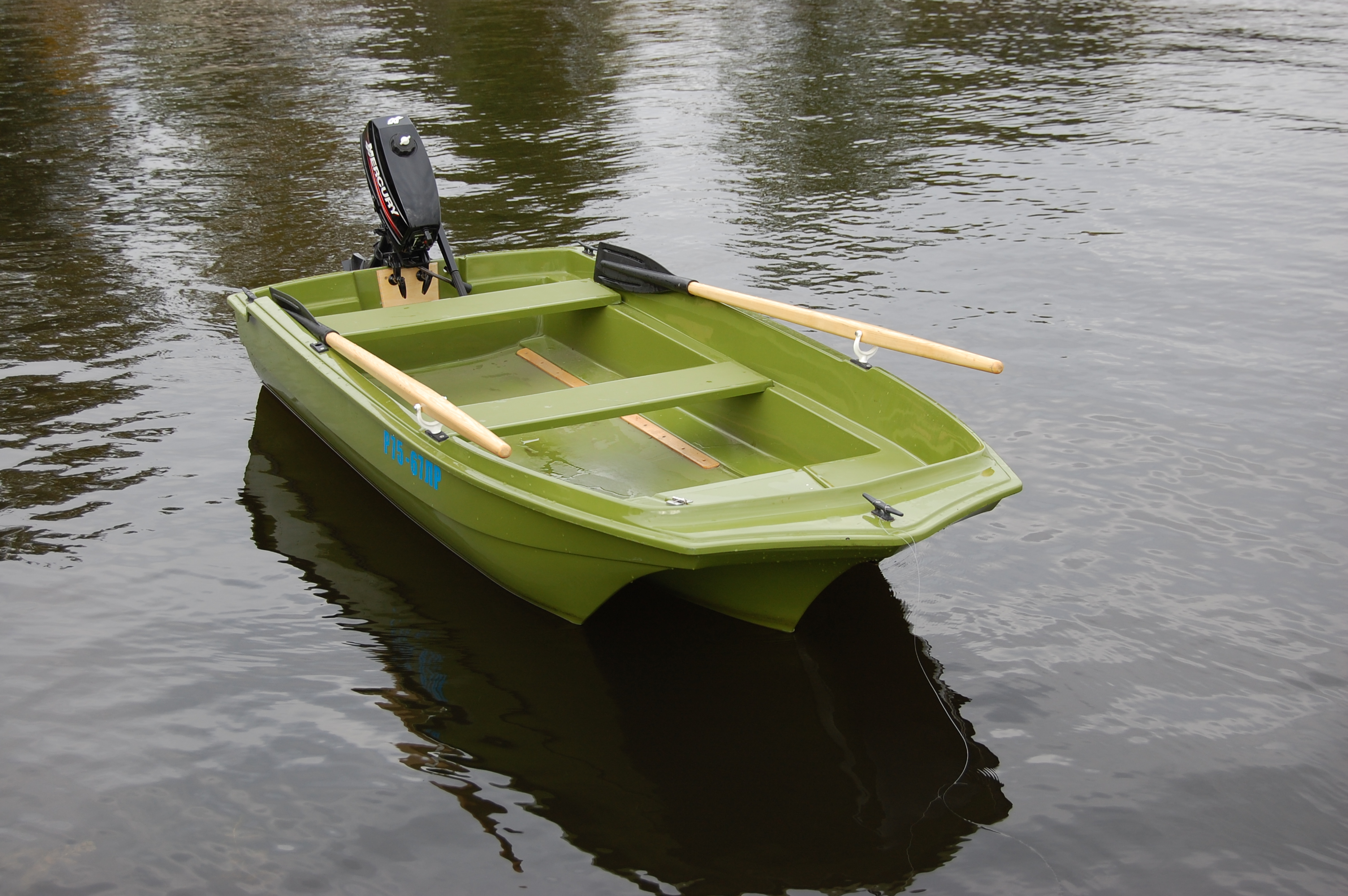 Лодки российского производства